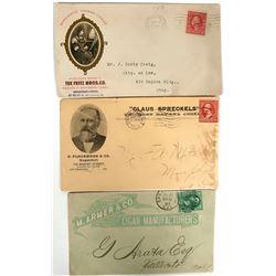 Three San Francisco Cigar Covers  (116229)