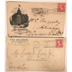 Two Baldwin Hotel S.F. Covers  (116226)