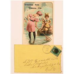 Scenega Cover & Ventura Postcard  (113005)