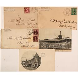 Indian Territory Postal Covers & Postcards  (115132)
