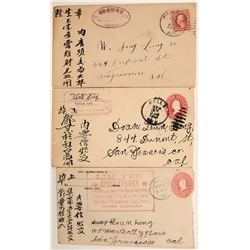 Three Chinese in Nevada Covers  (113026)