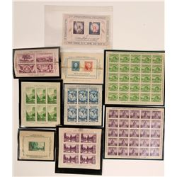 American Philatelic Society Plate Blocks, 1933-1956  (116566)