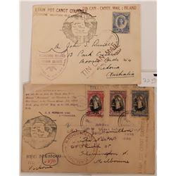 Tongan Islands Canoe Mail Tin Can Mail  (116788)