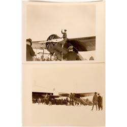 Two Alaska Rescue Flight RPC Postcards   (116617)