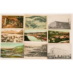 Group of 9 Yukon Territory Postcards  (111552)