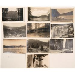 Bass Lake, California Real Photo Postcards  (113092)