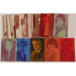 Hollywood Actors Postcards, Silent Era, 1920's (50)  (111614)
