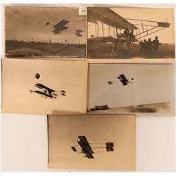 California Airplane Bi-plane RPCs Pioneer Postcards (116618)
