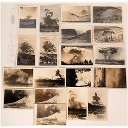 Real Photo Postcards of 1914-1915 Mt. Lassen Volcanic Eruptions  (113152)