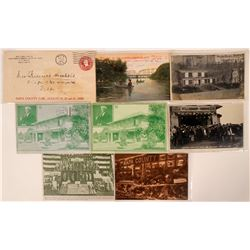 Group of Napa Sonoma Postcards & Misc. (8)  (110344)