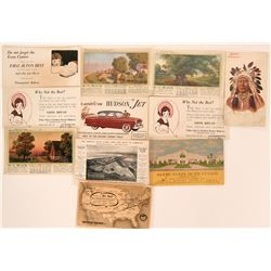 Advertising Postcards (10)  (116756)