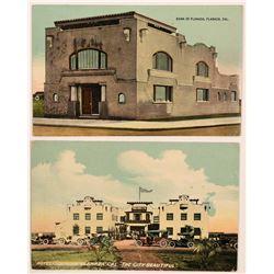 Rare Planada, California Postcards  (113091)