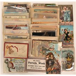 Portola Festival Postcards  (115563)