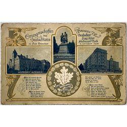 Rare San Francisco Dutch Fair Postcard, 1908  (111625)