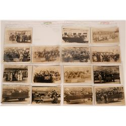 San Francisco Cliff House Auto Tour Real Photo Postcards  (113123)