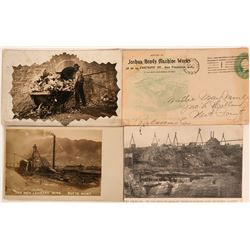 Three Mining RPC Pioneer Postcards Plus Cover  (116377)