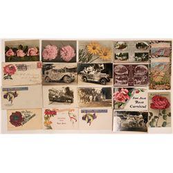 Santa Clara Rose Festival Post Cards & Covers  (115544)