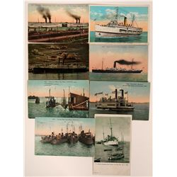 Postcards of Southern California Steamers  (113137)