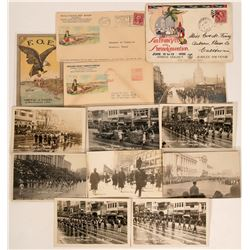 Fraternal Organization Postcards & Covers  (115546)