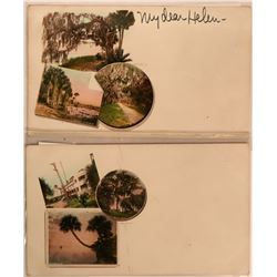 Two Pioneer Postcards of Florida 1898  (116361)