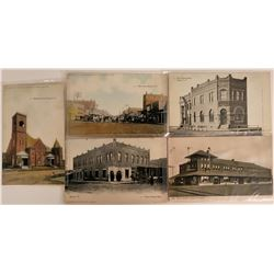 Five Pioneer Postcards of Indian Territory   (116364)
