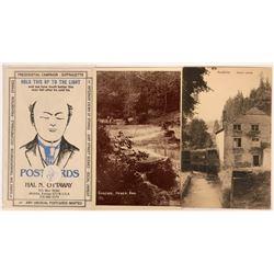 Three Advertising Postcards  (116109)