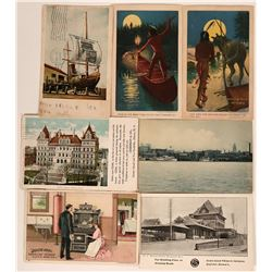Early Postcards Advertising Stoves/Ranges including Two RPC's  (116107)