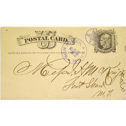 Sun River, Montana Postal Card  (115717)