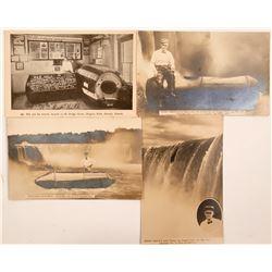 Niagara Falls Stunts Postcard Group  (113102)