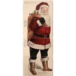 Santa Claus Puzzle Postcards Novelty Multi-Card Set  (116621)