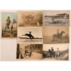 Some Cowboy RPC's and Print Postcards  (116762)