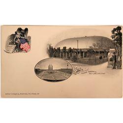 Pioneer Postcard Litho Mormon Tabernacle Utah  (116363)