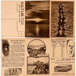 Saltair Mailing Card, Saltair Beach, Great Salt Lake,Utah  (110347)