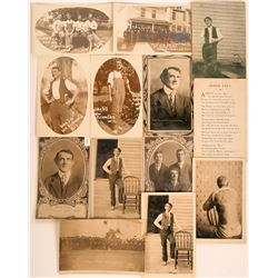 "John Till the Quack ""Plaster Doctor"" 13 piece Pioneer Postcard Collection  (116333)"