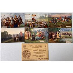 Gloucestershire Pageant Postcard Set, 1908 by Tuck  (111644)