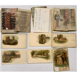 Large Group of Tuck Postcards Includes Harry Payne and J. Finnemore (50)  (111617)