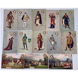 St. Alban's Pageant Official Postcards by Tuck (13)  (111643)