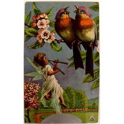 Harmonica Postcard  (115625)