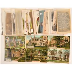 Postcards Featuring Famous & Historical People  (113100)
