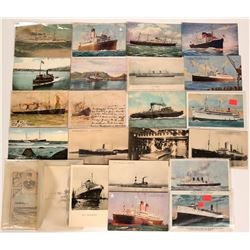 Postcards of Foreign Steamers  (113134)