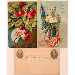 Postcards of Presidents (3)  (111558)