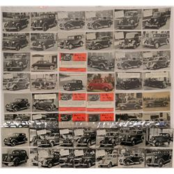 Real Photo Postcards Marketing 1930s Automobiles  (113132)