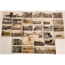 Real Photo Postcards of Disasters (Fires, Tornadoes, Storms, Explosions)  (113129)