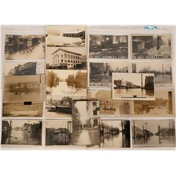 Real Photo Postcards of Floods  (113128)