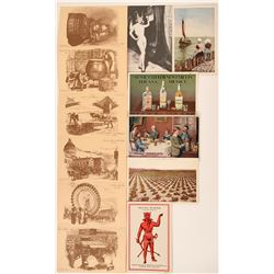 Seven Advertising Postcards  (116104)
