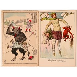 Two Devil Postcards  (111566)