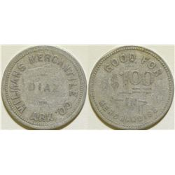 Wilmans Mercantile Co. Token  (115636)