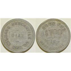 Wilmans Mercantile Co. Token  (115636)