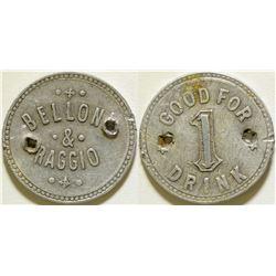 Bellow & Raggio Token  (115756)