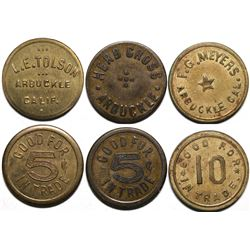 Arbuckle Tokens  (115410)